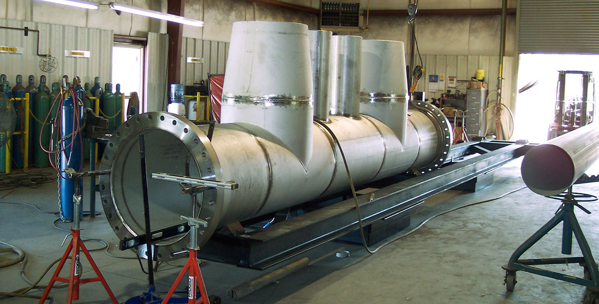 Carolina Industrial Piping, Inc large bore stainless